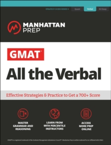 GMAT All the Verbal : The definitive guide to the verbal section of the GMAT, EPUB eBook