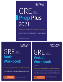 GRE Complete 2021 : 3-Book Set: 6 Practice Tests + Proven Strategies + Online, Paperback / softback Book