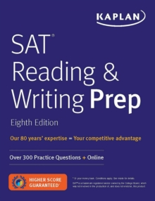 SAT Reading & Writing Prep : Over 300 Practice Questions + Online, EPUB eBook
