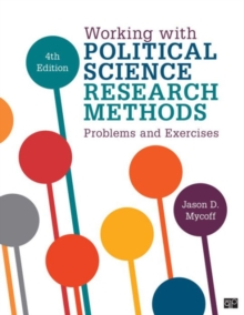 Working with Political Science Research Methods : Problems and Exercises, Paperback / softback Book