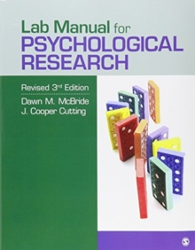 BUNDLE: McBride: The Process of Research in Psychology 3e + McBride: Lab Manual for Psychological Research Revised 3e, Mixed media product Book