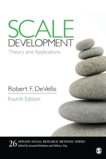 Scale Development : Theory and Applications, Paperback Book