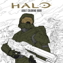 Halo Coloring Book : Based off the game Halo from Microsoft and 343, Paperback / softback Book