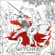 The Witcher Adult Coloring Book, Paperback Book