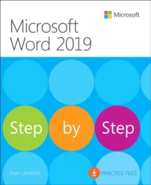 Microsoft Word 2019 Step by Step, Paperback / softback Book