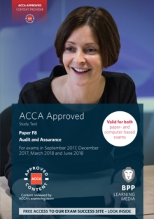 ACCA F8 Audit and Assurance : Study Text, Paperback Book