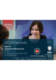 ACCA F4 Corporate and Business Law (Global) : Passcards, Spiral bound Book