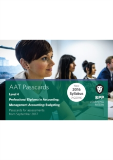 Aat Management Accounting Budgeting : Passcards, Spiral bound Book