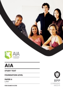 AIA 4 Law : Study Text, Paperback Book