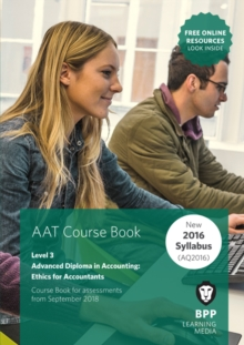 AAT Ethics For Accountants (Synoptic Assessment) : Coursebook, Paperback / softback Book