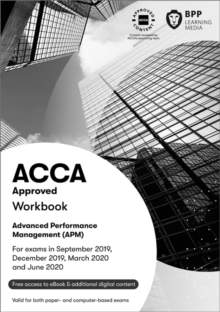 ACCA Advanced Performance Management : Workbook, Paperback / softback Book