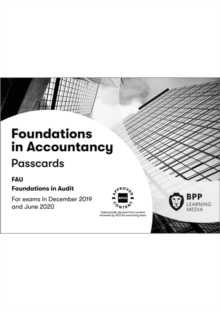 FIA Foundations in Audit (International) FAU INT : Passcards, Spiral bound Book