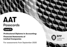 AAT Financial Statements of Limited Companies : Passcards, Spiral bound Book