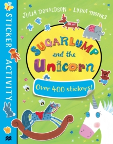 Sugarlump and the Unicorn Sticker Book, Paperback Book