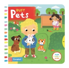 Busy Pets, Board book Book