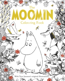 The Moomin Colouring Book, Paperback Book