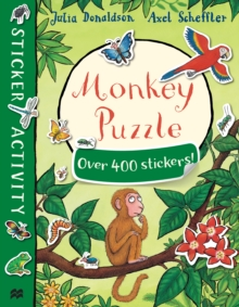 Monkey Puzzle Sticker Book, Paperback Book