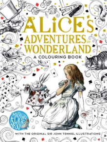 The Macmillan Alice Colouring Book, Paperback Book