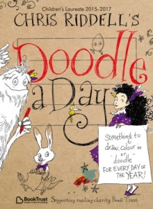 Chris Riddell's Doodle-a-Day, Paperback Book