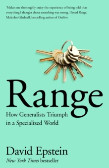 Range : How Generalists Triumph in a Specialized World, Hardback Book