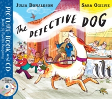 The Detective Dog : Book and CD Pack, Book Book