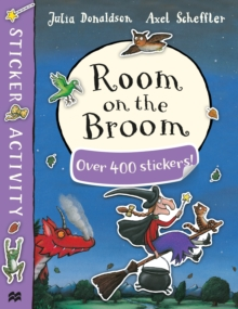Room on the Broom Sticker Book, Paperback Book