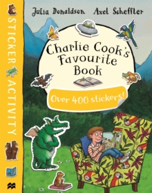 Charlie Cook's Favourite Book Sticker Book, Paperback Book