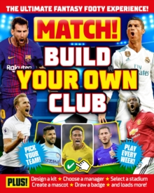 Match! Build Your Own Club, Paperback / softback Book