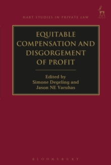 Equitable Compensation and Disgorgement of Profit, Hardback Book