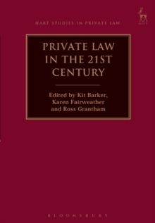 Private Law in the 21st Century, Hardback Book