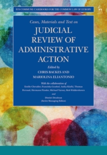Cases, Materials and Text on Judicial Review of Administrative Action, Paperback / softback Book