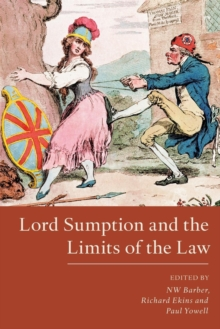 Lord Sumption and the Limits of the Law, Paperback Book