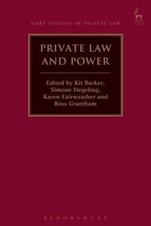 Private Law and Power, Paperback / softback Book
