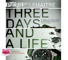 Three Days and a Life, CD-Audio Book