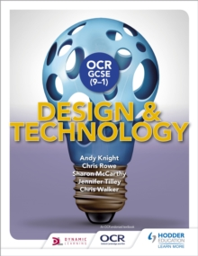 OCR GCSE (9-1) Design and Technology, Paperback Book
