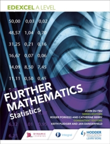 Edexcel A Level Further Mathematics Statistics, Paperback / softback Book