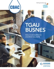 CBAC TGAU BUSNES (WJEC GCSE Business Welsh-language edition), Paperback Book
