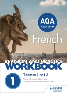 AQA A-level French Revision and Practice Workbook: Themes 1 and 2, Paperback / softback Book