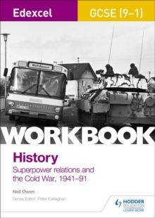 Edexcel GCSE (9-1) History Workbook: Superpower relations and the Cold War, 1941-91, Paperback / softback Book