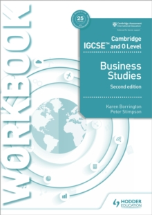 Cambridge IGCSE and O Level Business Studies Workbook 2nd edition, Paperback Book