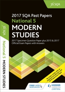 National 5 Modern Studies 2017-18 Sqa Specimen and Past Papers with Answers, Paperback Book