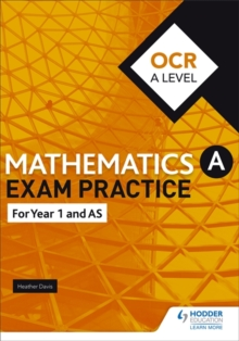 OCR Year 1/AS Mathematics Exam Practice, Paperback Book