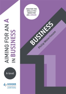 Aiming for an A in A-level Business, Paperback Book