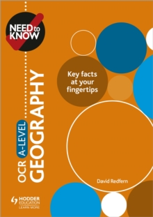 Need to Know: OCR A-level Geography, Paperback / softback Book