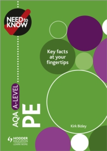 Need to Know: AQA A-level PE, Paperback / softback Book