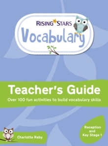 Rising Stars Vocabulary: Reception and Key Stage 1, Paperback / softback Book