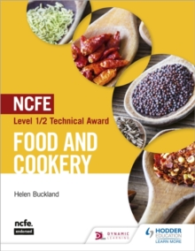 NCFE Level 1/2 Technical Award in Food and Cookery, Paperback / softback Book