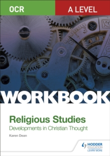 OCR A Level Religious Studies: Developments in Christian Thought Workbook, Paperback / softback Book