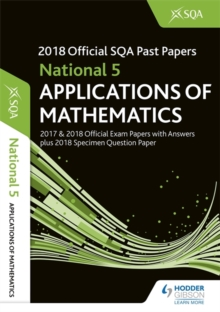 National 5 Applications of Maths 2018-19 SQA Specimen and Past Papers with Answers, Paperback / softback Book