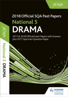 National 5 Drama 2018-19 SQA Specimen and Past Papers with Answers, Paperback / softback Book